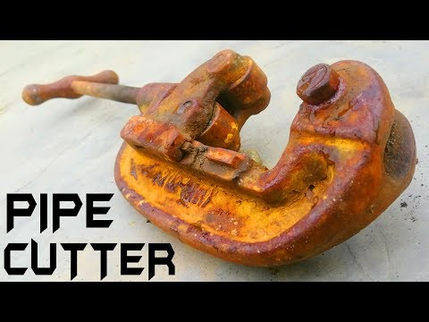 Antique Pipe Cutter RESTORATION
