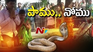 Forest Officers Back Step On Durgada Snake Shifting Process After Devotees Protest In East Godavari