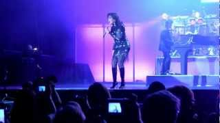 Donny and Marie Osmond at the SECC in Glasgow on Feb 1 2013