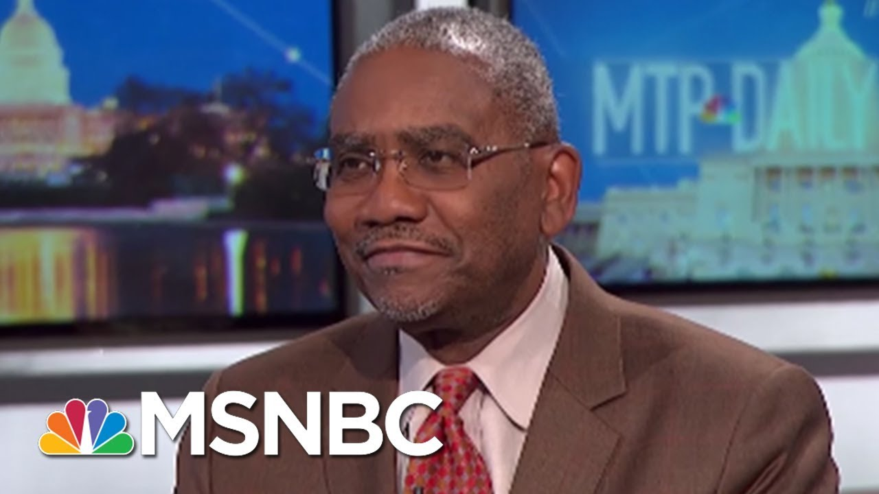 Gregory Meeks: President Donald Trump Wants To Make America 'Just White' | MTP Daily | MSNBC thumbnail