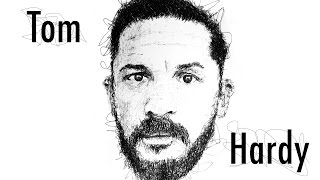 Best Speed Drawing Tom Hardy by Gus Romano