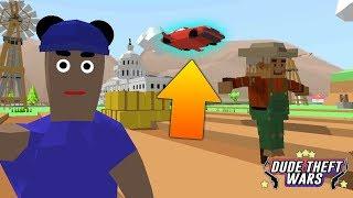 ЛЕТАЮЩАЯ ТАЧКА В СИМУЛЯТОР КРУТОГО ЧУВАКА! - Dude Theft Wars: Open World