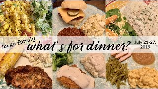 WHAT'S FOR DINNER & DESSERT! | HOMEMADE DINNERS FROM SCRATCH | REAL LIFE MEAL IDEAS