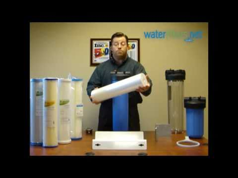 Video Untreated Well Water Filter System