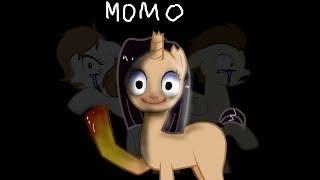 СТРАШНАЯ ПЕРЕПИСКА С МОМО -- Пони страшилка -Пони креатор
