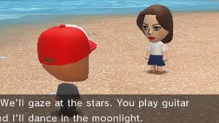 ELISA confesses her love to beef boss on tomodachi life...