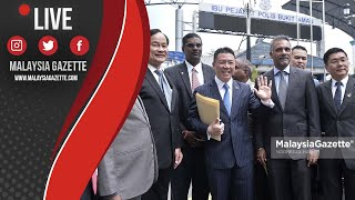 MGTV LIVE : Hina Sultan! Nga Kor Ming Hadir ke IPP Bukit Aman