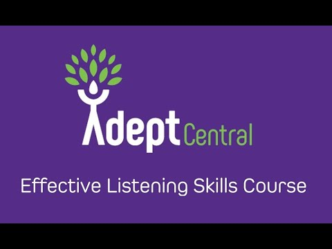 Effective Listening Skills Course - Thinking of training in Listening Skills?