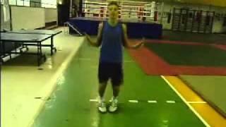 Прыжки со скакалкой для боксера / Jumping rope for a boxer