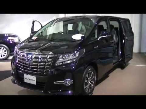 新型アルファードハイブリッドの展示車の外装と内装を撮影しました。SR 7人乗り 490万円 New Alphard Toyota 動画