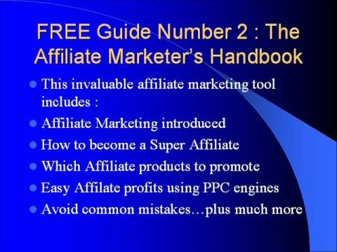 Free Affiliate Internet Marketing eBooks  Make Money Online
