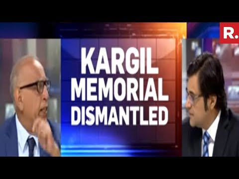 Late Night Insult To Kargil Martyrs | The Debate With Arnab Goswami