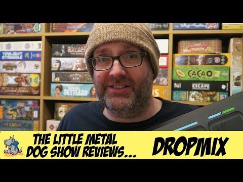 Little Metal Dog Show reviews Dropmix!
