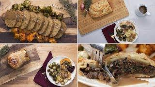 3 Vegetarian Holiday Main Dishes