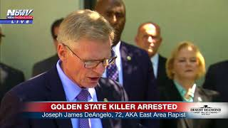 GOLDEN STATE KILLER ARRESTED: California authorities talk about capture of Joseph DeAngelo (FNN)