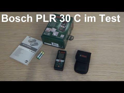 Bosch Diy Digitaler Laser Entfernungsmesser Plr 30 C : Plr c