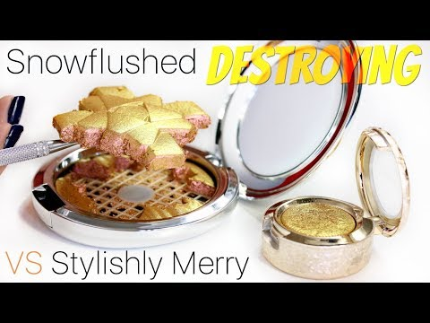 MAC Snowflushed Vs Stylishly Merry - Are They The Same? | THE MAKEUP BREAKUP