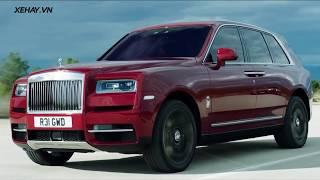 Chi tiết Rolls Royce Cullinan - Chiếc SUV khủng nhất thế giới |XEHAY.VN|