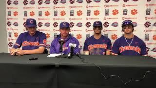 Clemson Baseball || Lee, Jones, Hall, Teodosio - 3/2/19