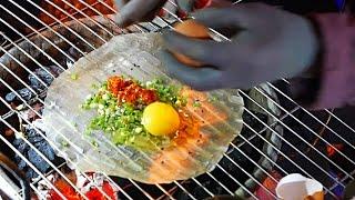 Download Video Vietnam Street Food - Vietnamese Pizza / Bánh Tráng Nướng Dalat MP3 3GP MP4