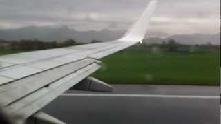 preview picture of video 'Take-off from Orio al Serio to Budapest with Ryanair'