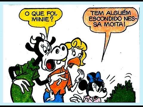 Ranulfo, Minie e Clarabela, Sabe da última? - quadrinhos Disney