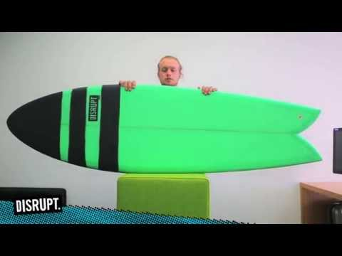 Reto Fish // Product Demo // Disrupt Surfing Review