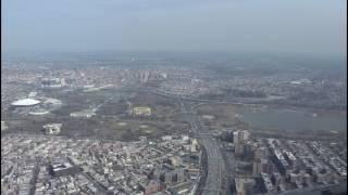Landing at La Guardia Airport - Expressway Visual Approach Runway 31 - Airbus A320