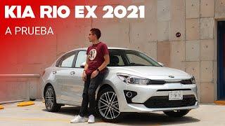KIA Rio Sedán EX 2021, a prueba: cambios sutiles y un balance continuo en todo aspecto