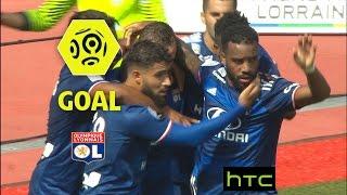 Goal Alexandre LACAZETTE (33') / AS Nancy Lorraine - Olympique Lyonnais (0-3)/ 2016-17