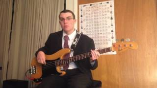 Andy Williams - Do You Hear What I Hear? (Bass Cover)