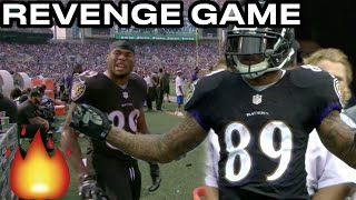 When Steve Smith Sr. MET The Panthers AGAIN! (HD) | 2014 Baltimore Ravens Vs Carolina Panthers