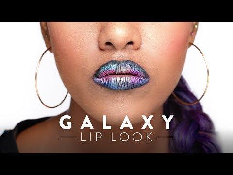 Get The Look | Galaxy Inspired Lips | Lip Makeup | MyGlamm