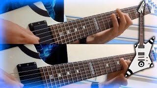 Iron Maiden - Aces High - Full Guitar Cover - HD 1080p