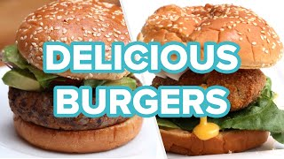 6 Delicious Burger Recipes You Need To Try Today • Tasty