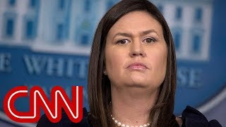 Sarah Sanders made an important admission to Mueller's team