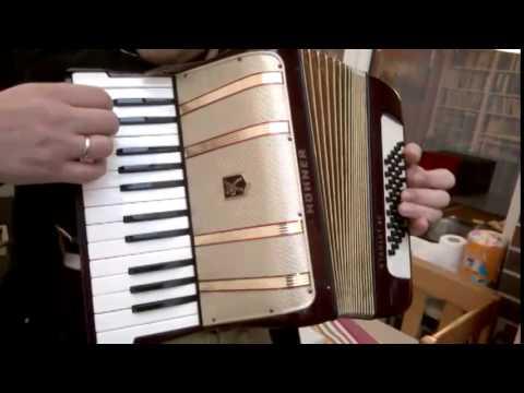 Akkordeon Starlet 40 Bass Pianoakkordeon