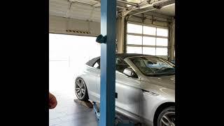 BMW 6er Cabrio Tieferlegung mittels H&R Sportfedern 28947-4 mit Montage und 3D-Achsvermessung 549€