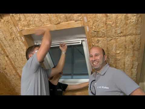 ISOVER live ✔ Dämmstoffeinbau am Dachflächenfenster ★ Web TV für Handwerker