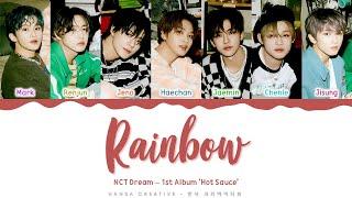 NCT DREAM - 'Rainbow' Lyrics Color Coded (Han/Rom/Eng)