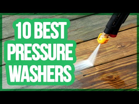 10 Best Pressure Washers 2016 – 2017