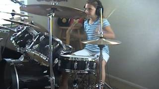"Seven Mary Three ""Cumbersome"" a drum cover by Emily"