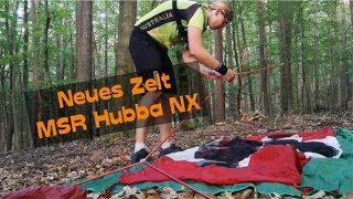 Bikepacking Zelt MSR Hubba NX | MTBTravelGirl