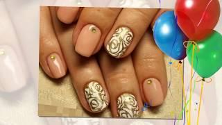 """""""Золотой"""" маникюр всегда в тренде. / Gold manicure always in a trend."""