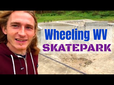 There is an Awesome Skatepark in Wheeling West Virginia