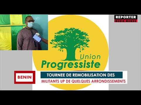 REPORTER BENIN MONDE : L'UNION PROGRESSISTE SUR LE TERRAIN AUPRES DE SES MILITANTS REPORTER BENIN MONDE : L'UNION PROGRESSISTE SUR LE TERRAIN AUPRES DE SES MILITANTS