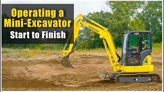 How to Operate a Mini Excavator (2019): Pre-Op to Shut Down | Heavy Equipment Operator