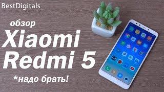 Обзор Xiaomi Redmi 5 – покупать не раздумывая!