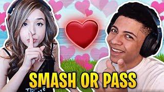 Pokimane Answers Myth Smash or Pass! | Fortnite Best Moments #24