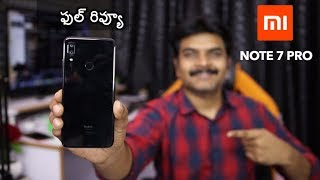 Redmi Note 7 Pro Review With Pros & Cons ll in Telugu ll